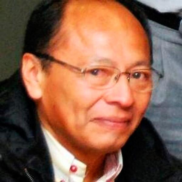 Líder wayuu de Manaure Armando Valbuena.