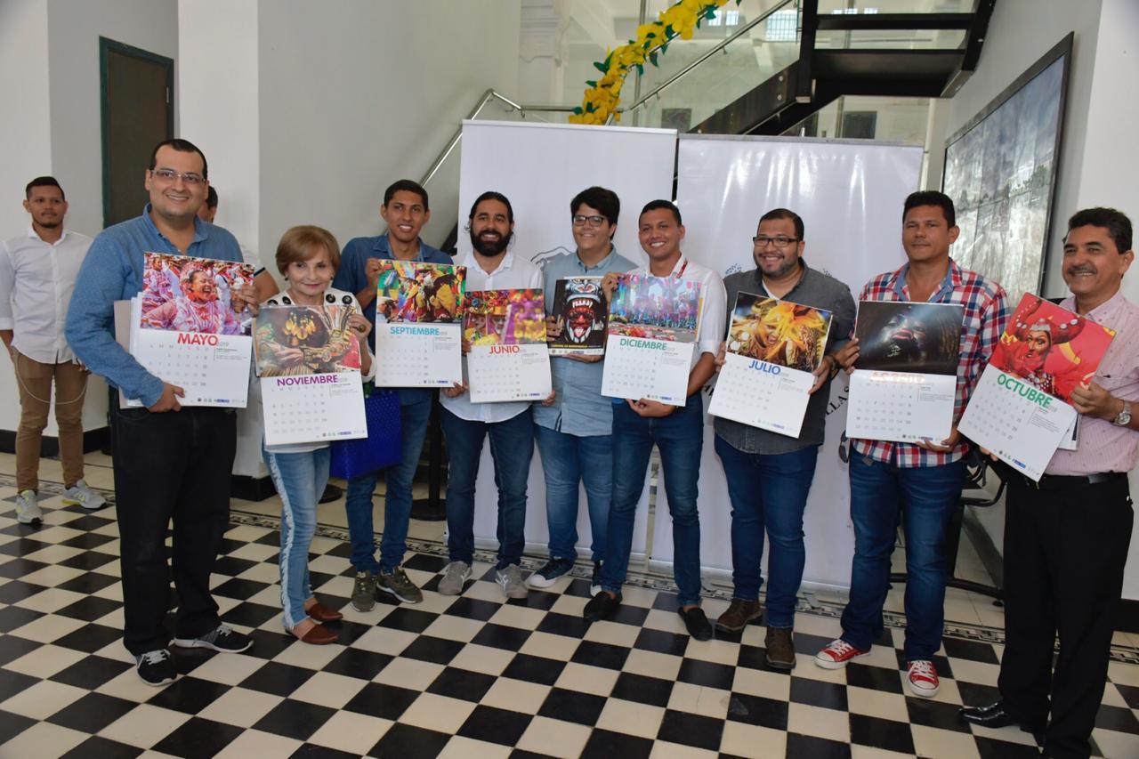 Estos son los 12 participantes que estarán en el calendario del Carnaval.