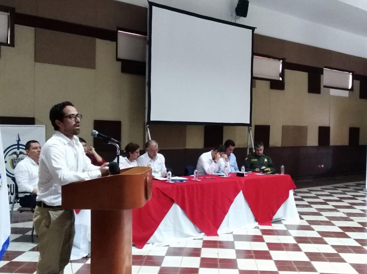 Camilo Jaimes, secretario de Transparencia de Presidencia de la República.