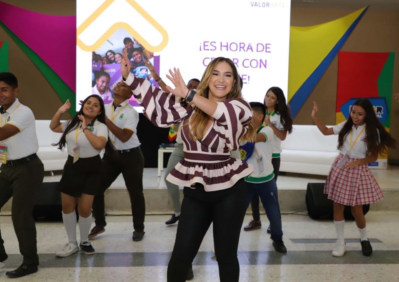 Valeria Abuchaibe habló de su proyecto CreArte.