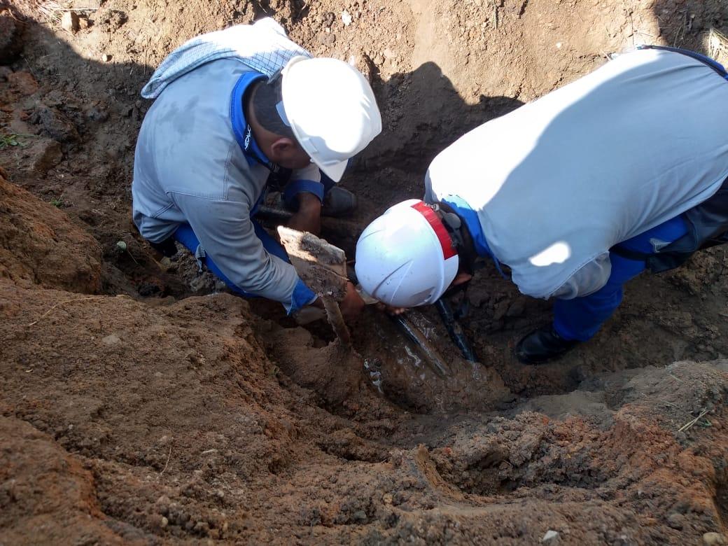Un daño en un cable subterráneo sería el problema.