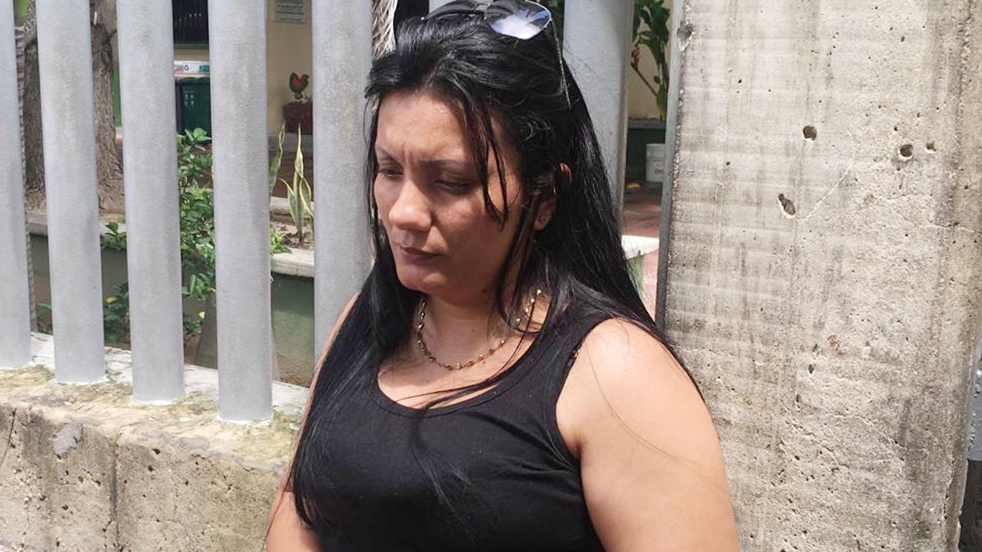 Karitza Bohórquez, hermana de la víctima.