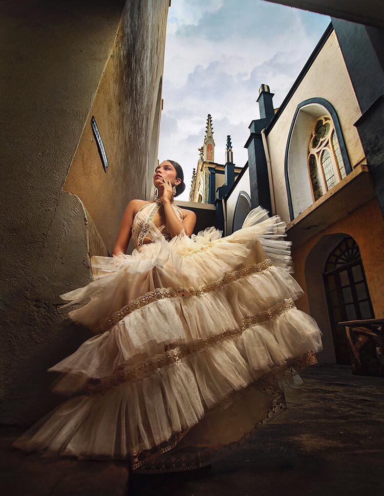 Algunas novias optan por diseños excéntricos.