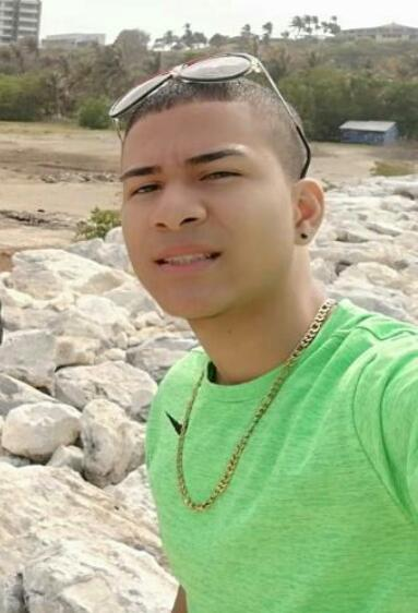 Juan Camilo Altamar Sánchez, víctima.