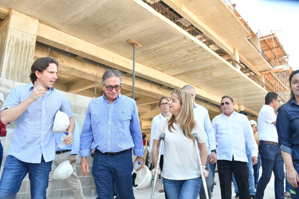 Recorrido por las obras de la nueva sede de la Uniatlántico en Sabanalarga.