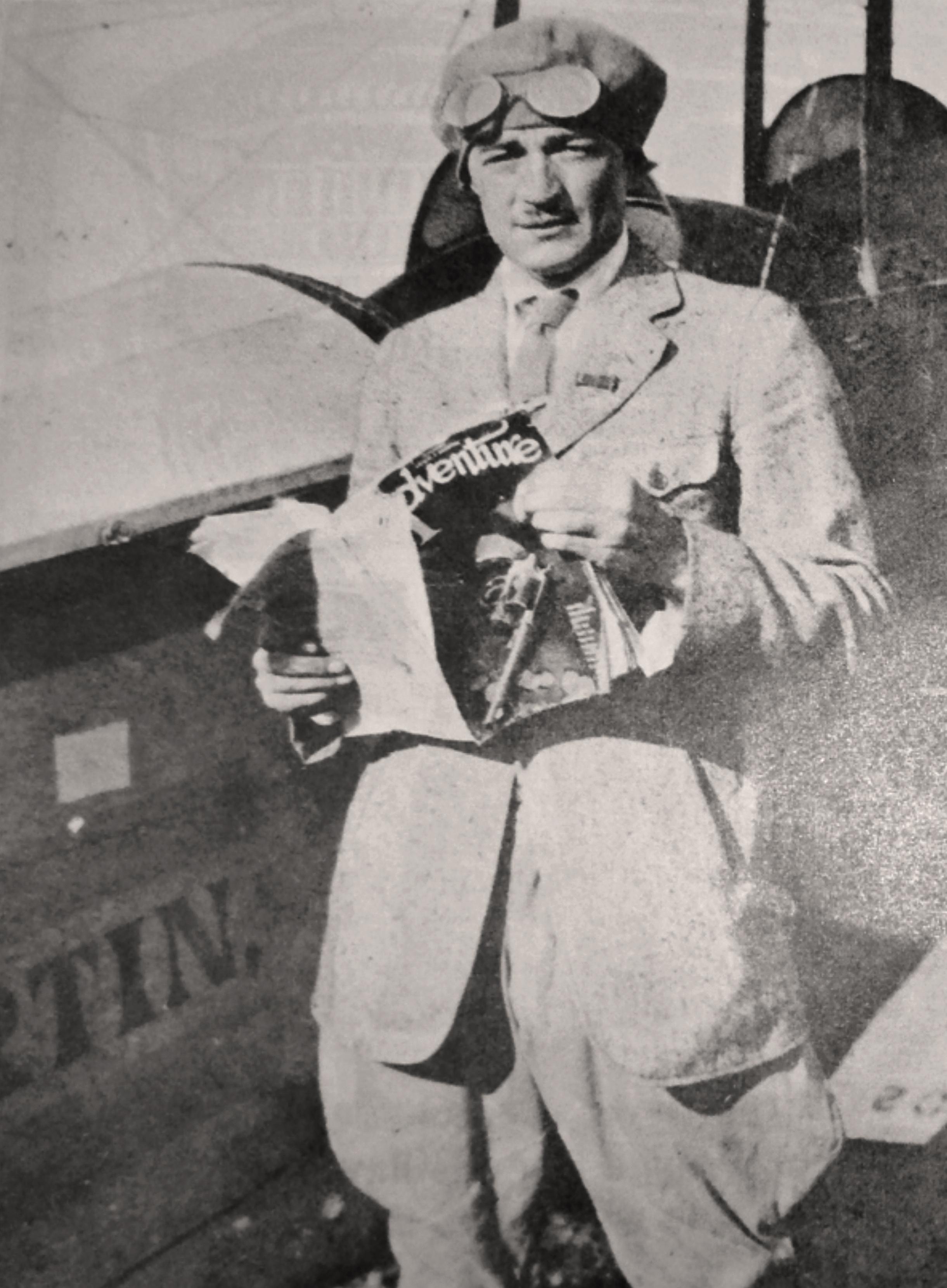 El aviador norteamericano William Knox Martin.