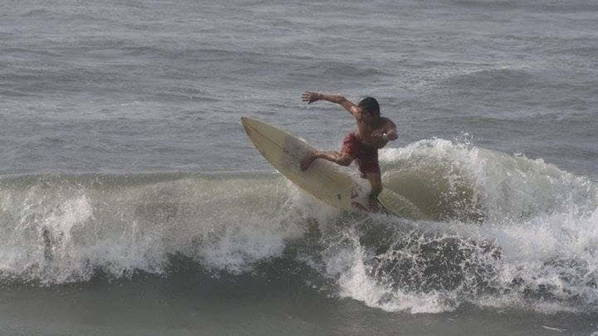 Jorge Junior Albor disfrutando de su pasión.