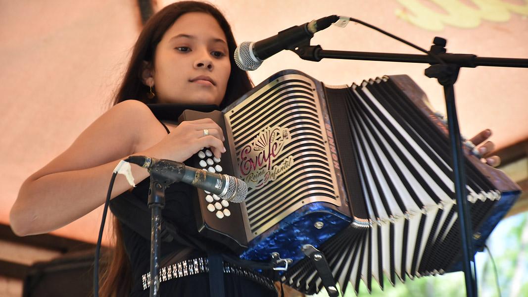 Zaide Gutiérrez lleva cinco años participando.