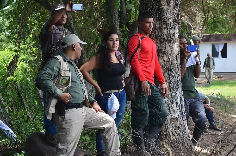 Exguerrilleros en Pondores, La Guajira.